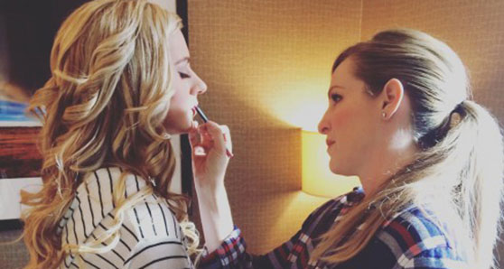 Freelance makeup artist turns each job into the next one