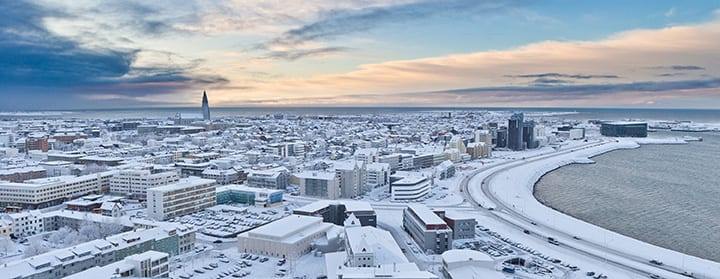 Reykjavik is believed to be the location of the first permanent settlement in Iceland