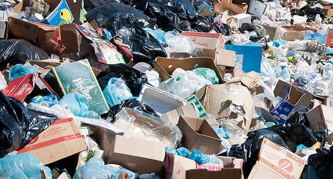 The inconvenient truth of a mountain of garbage