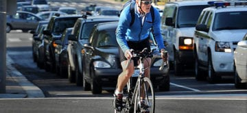 Bike riders need to learn to share the road
