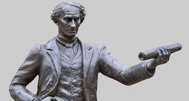 Criticizing Macdonald is fair game but leave statues alone