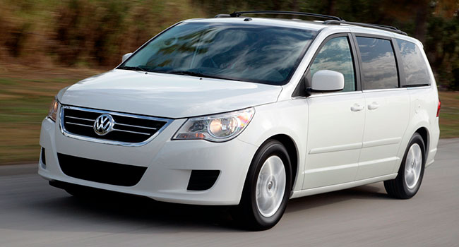 VW Routan was nothing to quack about